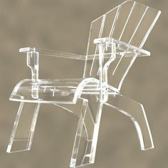 Furniture, Unique And Cool Garden Lucite Chair Design Ideas For Decorating Room: Smart Furniture Design Ideas: Lucite Furniture Legs