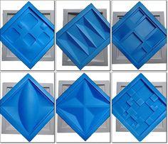 New Origami Architecture Molds 52 Ideas, Precast Concrete, Concrete Tiles, 3d Wall Panels, Fabric Panels, Loft Design, Wall Design, Pop False Ceiling Design, 3d Wall Tiles, Origami Architecture