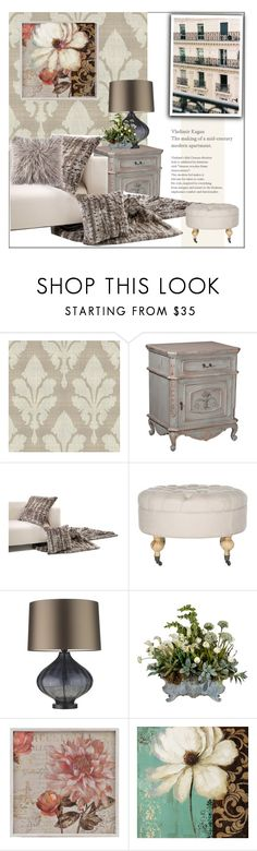 """Little Apartment"" by frenchfriesblackmg ❤ liked on Polyvore featuring interior, interiors, interior design, home, home decor, interior decorating, York Wallcoverings, Safavieh, Zoffany and Universal Lighting and Decor"