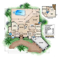 Mediterranean House Plan | Artesia House Plan - Weber Design Group