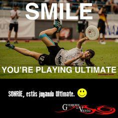 #UltimateFrisbee #Deportes #Sonríe #GuerrerosdelViento