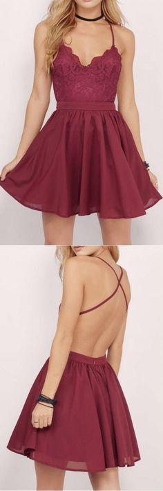 homecoming dresses,short homecoming dresses,burgundy homecoming dresses,lace homecoming dresses,fashion homecoming dresses