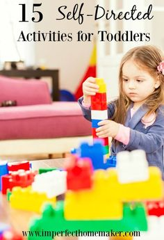 15 self directed activities for toddlers