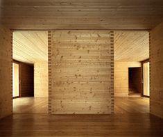 peter zumthor / luzi house . jenaz