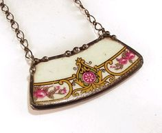 jewelry made from broken china - Google Search