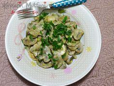 Creamy Sautéed Mushroom Recipe | Turkish Style Cooking