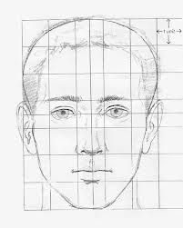 drawing face proportions - Google Search