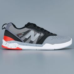New Balance Numeric 868 Shoes Grey Black