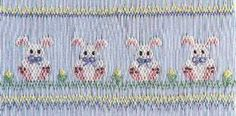 McCarn Precious Bunnies. One of my favorite Easter smocking plates.