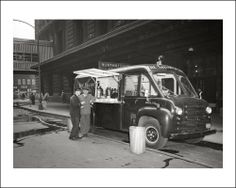 1954 Dodge Route Van used by The Chicago Salvation Army.