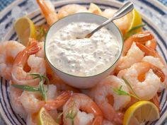 Get Nancy Fuller's Shrimp Cocktail with Remoulade Sauce Recipe from Food Network