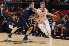 Terps Push Past Monmouth Friday Night - Maryland Terrapins Athletics…
