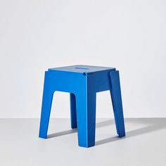 Beige Butter Stool | Low Seating | Stackable Recycled Plastic Furniture | Indoor & Outdoor Use | Sustainable Design