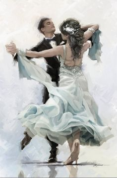 Trademark Global The Macneil Studio 'Charleston' Canvas Art - 22 - Dance art - Artist Canvas, Canvas Art, Framed Canvas, Framed Prints, Art Prints, Tango Art, Elegant Couple, Dance Paintings, People Dancing