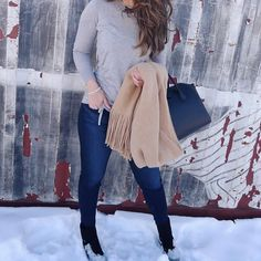 """796 Likes, 53 Comments - Blogger • Aliya (@stylebyaliya) on Instagram: """"Tuesday = snow day! ❄️ Luckily, I picked up this sweater from @bananarepublic during the 60% off…"""""""