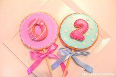 anniversary lollipop cookie