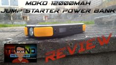 New Video OUT. This is the MoKo 12000mAh Jump Starter Power Bank. This is the best and most powerful power bank I have never seen and in this video I review it. This power bank can Jump Start your car Charge your Laptop Charge 3 devices at the same time (Phones/Tablets) and be a Flashlight. The bank charges my phone at fast speeds same speed as the wall plug for my phone and it also successfully jump starts my car. It claims to jump start a (3L Gas/4L Diesel) car upto 20 times. I give it an…