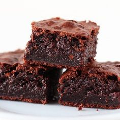 Coconut Oil Brownies from handletheheat.com