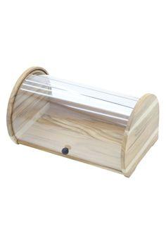 Porta-pão em madeira