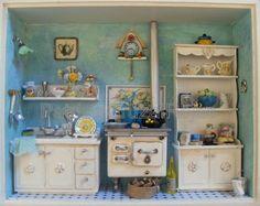 Cocina con Miniaturas, Patricia Cruzat