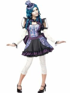 Teen Broken Doll Costume  AWESOME!! :D