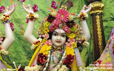 To view Gaurachandra Close Up Wallpaper of ISKCON Chicago in difference sizes visit - http://harekrishnawallpapers.com/sri-gaurachandra-close-up-wallpaper-026/