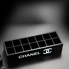 Chanel VIP Gift.  14 compartment organizer storage box with detachable tray.