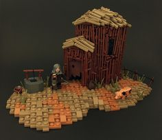 A well-built stick hut as sturdy as stone