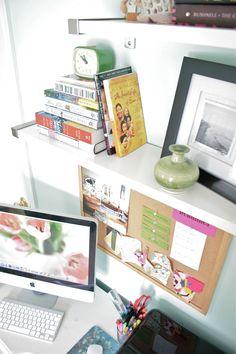 ikea shelves for the office