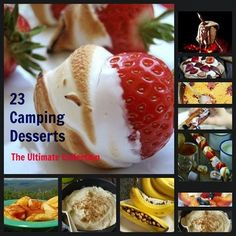 23 camping desserts   Totally trying the one on the cover, it looks like my winner :)