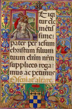Medieval Books, Medieval Art, Illuminated Letters, Illuminated Manuscript, Altar, Noli Me Tangere, Images Of Christ, Illumination Art, Book Of Hours