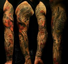 Bks Chronik Ink koi sleeve