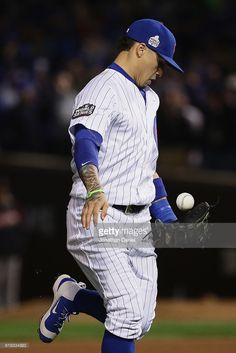 Javier Baez,CHC//Oct 30,2016 World Series Game 5 v CLE