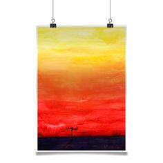 Póster Sunset