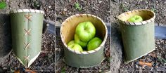 Fancy a go at bark work? Check out these methods #ecocreatehour http://www.eco-create.co.uk/find/ash-birch-bark-containers-natural-art-craft/…