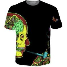 Medical Human Head Smoke Pipe Imagination Cool Style T-Shirt  #Medical #Human #Head #Smoke #Pipe #Imagination #Cool #Style #T-Shirt
