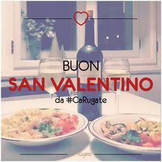"""""""Il vino prepara i cuori e li rende più pronti alla passione"""" - Ovidio E voi, con chi brinderete per San Valentino?  #SanValentino #CaRugate #WineQuotes"""