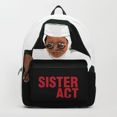SISTER ACT Backpack by ludovicainnocenti | Society6