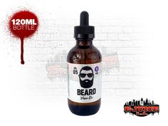 Beard Vape No. 5 ejuice 120 ml is a delicious slice of New York style cheesecake with strawberries poured over the top. Beard offers a 5 star cheesecake in a 120ml bottle.