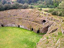 Anfiteatro de Sutri,  paseo mágico