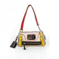 BNWT Dolce & Gabbana D&G MISS EASY WAY MULTI COLORED LEATHER POCHETTEThis is a rare and gorgeous authentic Dolce & Gabbana handbag! This chic and stylish bag is very popular among Dolce & Gabbana lovers everywhere.  Made of thick napa leather with canvas lining and silvertone hardware, it has one interior zipper pocket and another pocket for a cell phone. There is 1 zipper compartment on the exterior of the bag. This is a great addition to your wardrobe. Keep all your essentials together and…