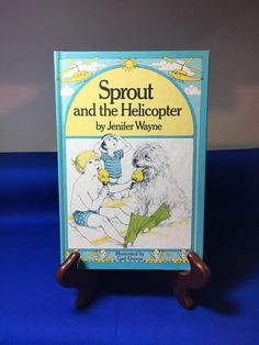 A personal favorite from my Etsy shop https://www.etsy.com/listing/518863301/1997-sprout-and-the-helicopter-childrens