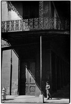"""""""Henri Cartier-Bresson Etats-Unis. Louisiane. Nouvelle Orléans. 1947 """""""