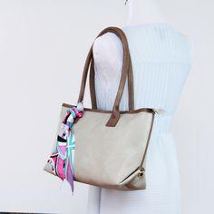 Monogram faux leather handbag purse, small Padded handbag Structured tote, everyday bag by bennaandhanna on Etsy