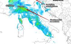 Neve e Piogge in Arrivo ecco come parte il 2016 Buongiorno e Buon Anno! Ultime ore in compagnia dell'alta pressione la quale tenderà a lasciare spazio a correnti atlantiche che riporteranno instabilità e nevicate... L'imponente area Anticicloni #previsioni #italia #meteo #neve #freddo