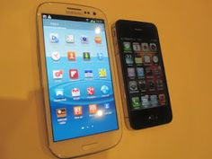 Galaxy S3 vs iPhone 4s  Galaxy S3 obviously!