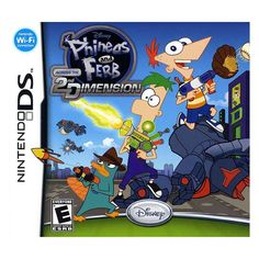 Disney Phineas and Ferb: Across the 2nd Dimension for Nintendo DS, Multicolor