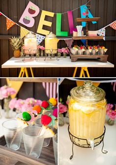 Colorful, Cutie & Tutti Frutti 2nd Birthday Party! // Hostess with the Mostess®