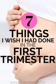7 things I wish I had done in the first trimester. A fun first trimester to do list for pregnant moms. Tips for the first trimester of pregnancy. From workouts, to checklists, and taking belly pics, a full list of things I wish I would have done! 3. Trimester, Pregnancy First Trimester, Second Trimester, Trimesters Of Pregnancy, Pregnancy Tips, Pregnancy Belly, Early Pregnancy, Pregnancy Outfits, Pregnancy Clothes