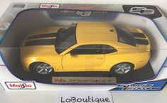MAISTO 1:18 Special Edition - 2010 Chevrolet Camaro SS RS in Yellow RARE in…